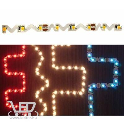 Melegfehér 60 LED/m 2835 chip 11W 780 lumen/m hajlítható LED szalag