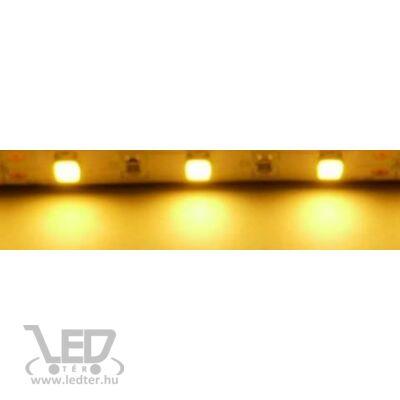 Melegfehér 60 LED/m 5630 chip 16W 1500 lumen/m LED szalag