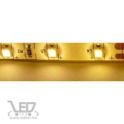 Melegfehér 60 LED/m 2835 chip 4,8W 420 lumen/m vízálló LED szalag