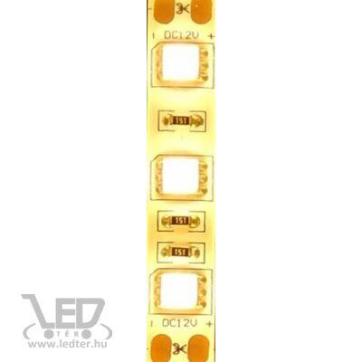 Melegfehér 60 LED/m 5050 chip 20W 1020 lumen/m vízálló LED szalag