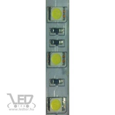 Melegfehér 60 LED/m 5050 chip 16W 650 lumen/m medencébe LED szalag