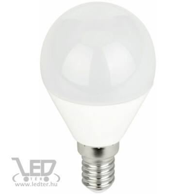 Középfehér-4200K 7W=60W 700 lumen Kisgömb E14 LED izzó