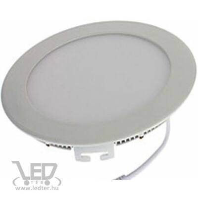 Középfehér-4000K 18W=120W 1580 lumen Kör alakú LED panel