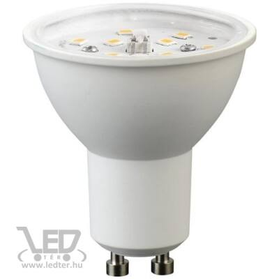 Hidegfehér-6000K 7W=70W 745 lumen Átlátszó burás GU10 LED izzó