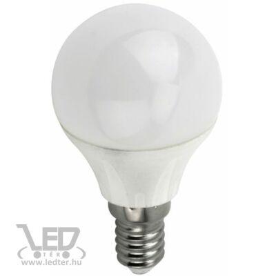 Hidegfehér-6000K 4W=40W 420 lumen Kisgömb E14 LED izzó