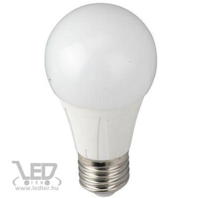 Hidegfehér-6000K 6W=60W 650 lumen Normál körte E27 LED izzó