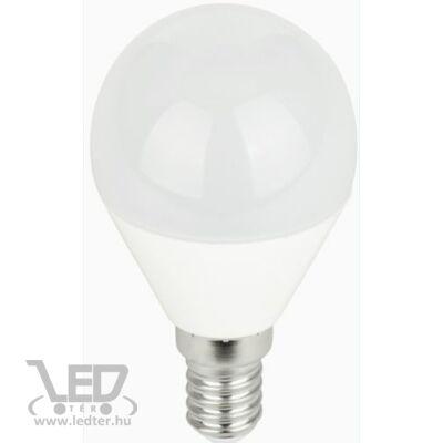 Hidegfehér-6000K 7W=60W 700 lumen Kisgömb E14 LED izzó