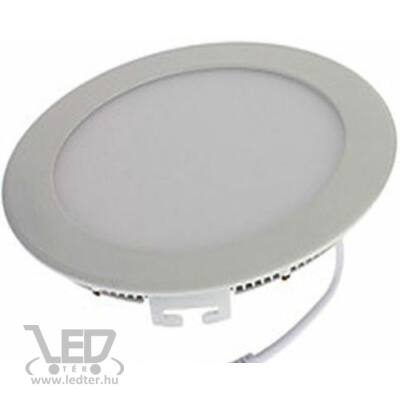 Hidegfehér-6000K 9W=70W 730 lumen Kör alakú LED panel