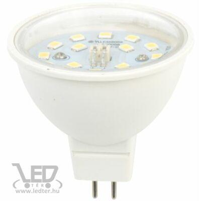 Hidegfehér-6000K 7W=70W 850 lumen MR16 átlátszó burás LED izzó