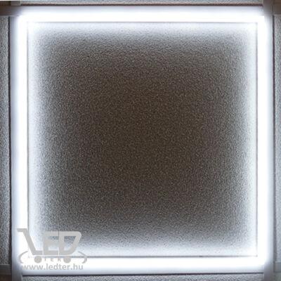 Led panel világító keret, 60x60 cm, 48W, 4600 lumen, 6000K, hideg fehér. Nem vibrál a fénye!