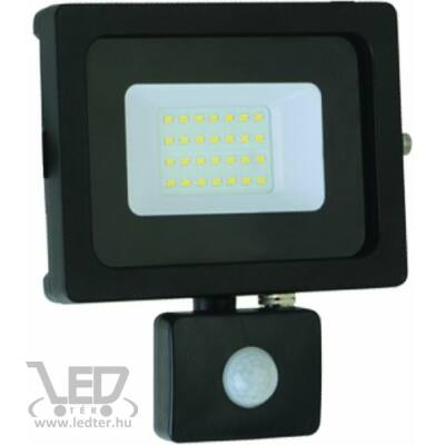 Hidegfehér-6000K 20W=150W 1700 lumen Mozgásérzékelős LED reflektor