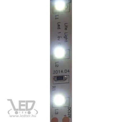 Hidegfehér 60 LED/m 2835 chip 4,8W 540 lumen/m LED szalag