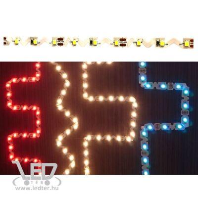 Hidegfehér 60 LED/m 2835 chip 11W 860 lumen/m hajlítható LED szalag