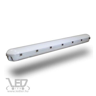 150cm Hidegfehér-6000K 48W 4300 lumen por és páramentes LED lámpa
