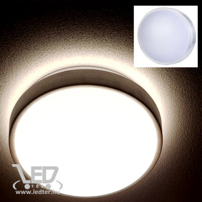 Melegfehér-3000K 18W=70W 830 lumen Kör alakú LED UFO lámpa
