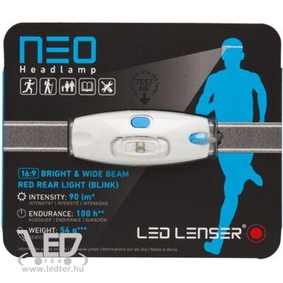 LedLenser NEO 3xAAA 90 lm fejlámpa kék