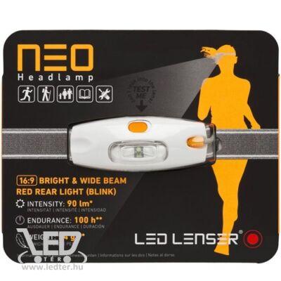 LedLenser NEO 3xAAA 90 lm fejlámpa narancs