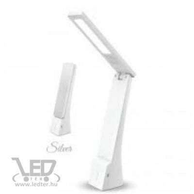 V-TAC 4W változtatható színhőmérséklet 550 lumen fehér-ezüst ház LED olvasólámpa