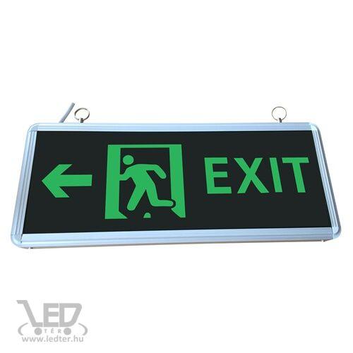 LED Exit lámpa kétoldalas 3W - Bal oldalra mutat