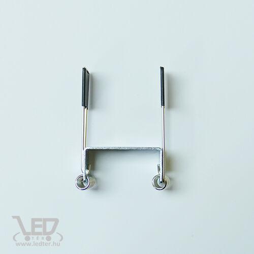 Design dupla LED szalagos alusín rugós rögzítő