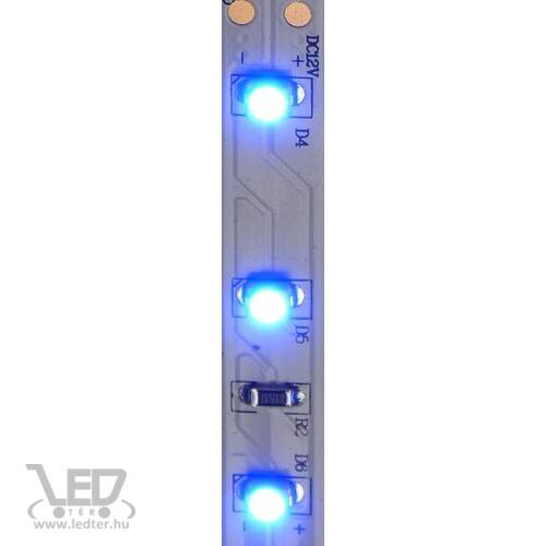 Beltéri kék 60LED/m 2835 chip 4.8 W 120 lm/m LED szalag