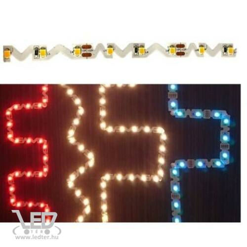 Beltéri RGB 42LED/m hajlítható 5050 chip 10 W 250 lm/m LED szalag