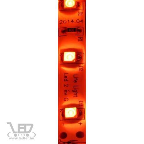 Kültéri piros 60LED/m 2835 chip 4.8 W 70 lm/m LED szalag