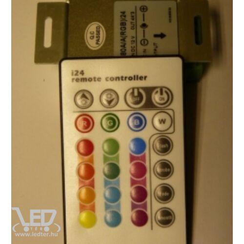 RGB LED szalag vezérlő 144W infrás 24 gombos