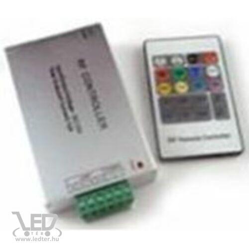 RGB LED szalag vezérlő 144W rádiós 20 gombos egyedi kódos