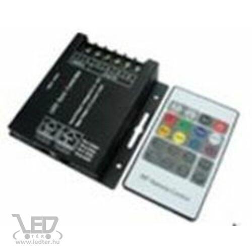 RGB LED szalag vezérlő 288W rádiós 20 gombos