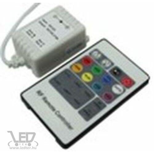RGB LED szalag vezérlő 72W rádiós 20 gombos