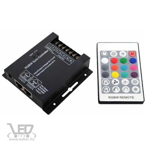 RGB LED szalag vezérlő 288W rádiós 24 gombos