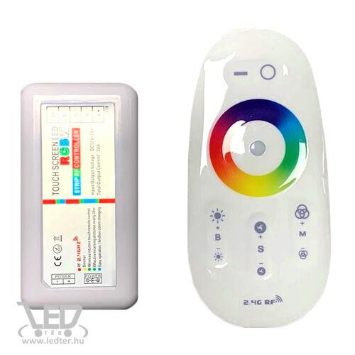 RGBW LED szalag vezérlő 288W rádiós érintős