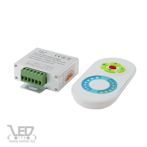 Hideg-meleg LED szalag vezérlő 144W rádiós távírányítóval