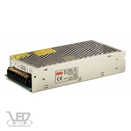 150W 12V DC 12,5A LED tápegység fémházas