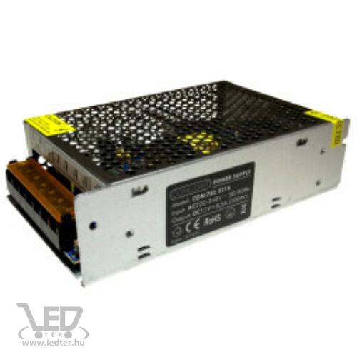 100W 12V DC 8,3A LED tápegység fémházas