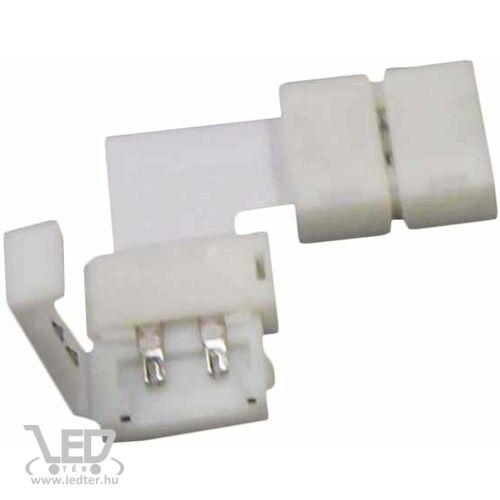 Forrasztás nélküli LED szalag sarokelem 10mm