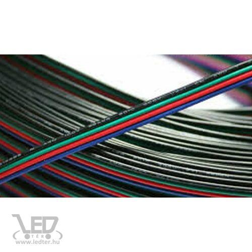 LED szalag vezeték 4 eres RGB 4*0,20 mm2