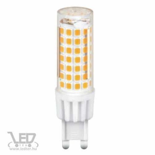 G9 kapszula LED izzó melegfehér 7W 800 lumen