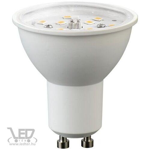 GU10 átlátszó burás LED izzó melegfehér 5W 460 lumen