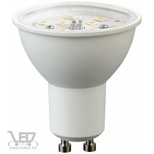 Melegfehér-2700K 7W=60W 700 lumen Átlátszó burás GU10 LED izzó