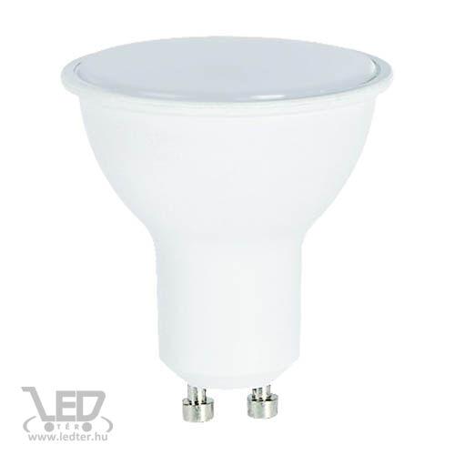 Melegfehér-3000 8W=70W 740 lumen Tej burás GU10 LED izzó