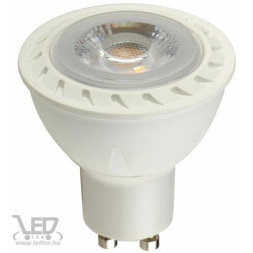 Melegfehér-2700K 5W=50W 550 lumen COB GU10 LED izzó