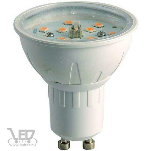 Dimmelhető GU10 spot LED izzó melegfehér 6W 600 lumen