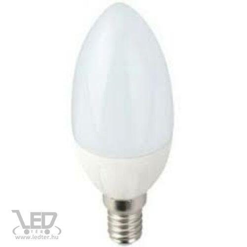 Dimmelhető gyertya E14 LED izzó melegfehér 5W 480 lumen