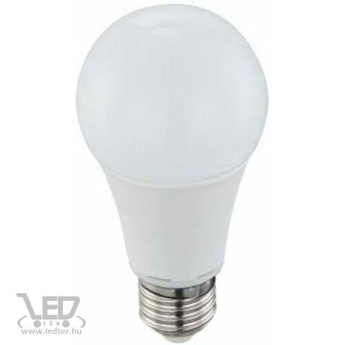 Normál körte E27 LED izzó melegfehér 12W 1260 lumen