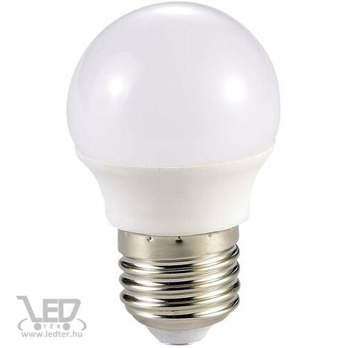 Kis körte E27 LED izzó melegfehér 5W 500 lumen