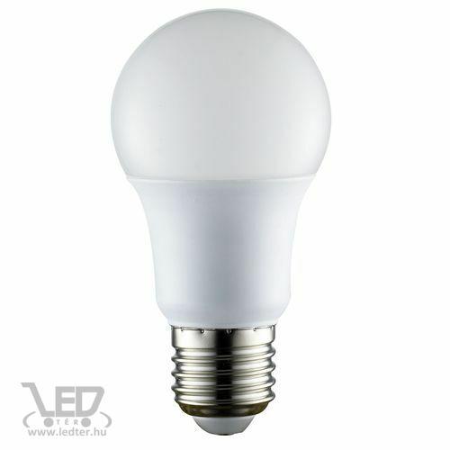 Normál körte E27 LED izzó melegfehér 6W 610 lumen