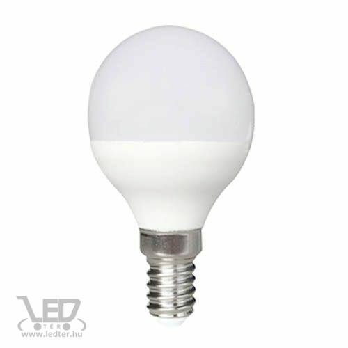 Melegfehér-3000 8W=70W 780 lumen Kisgömb E14 LED izzó