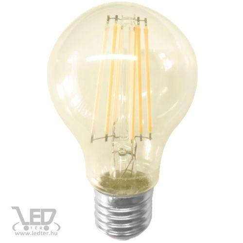 Filament körte E27 LED izzó extra melegfehér 12W 1000 lumen